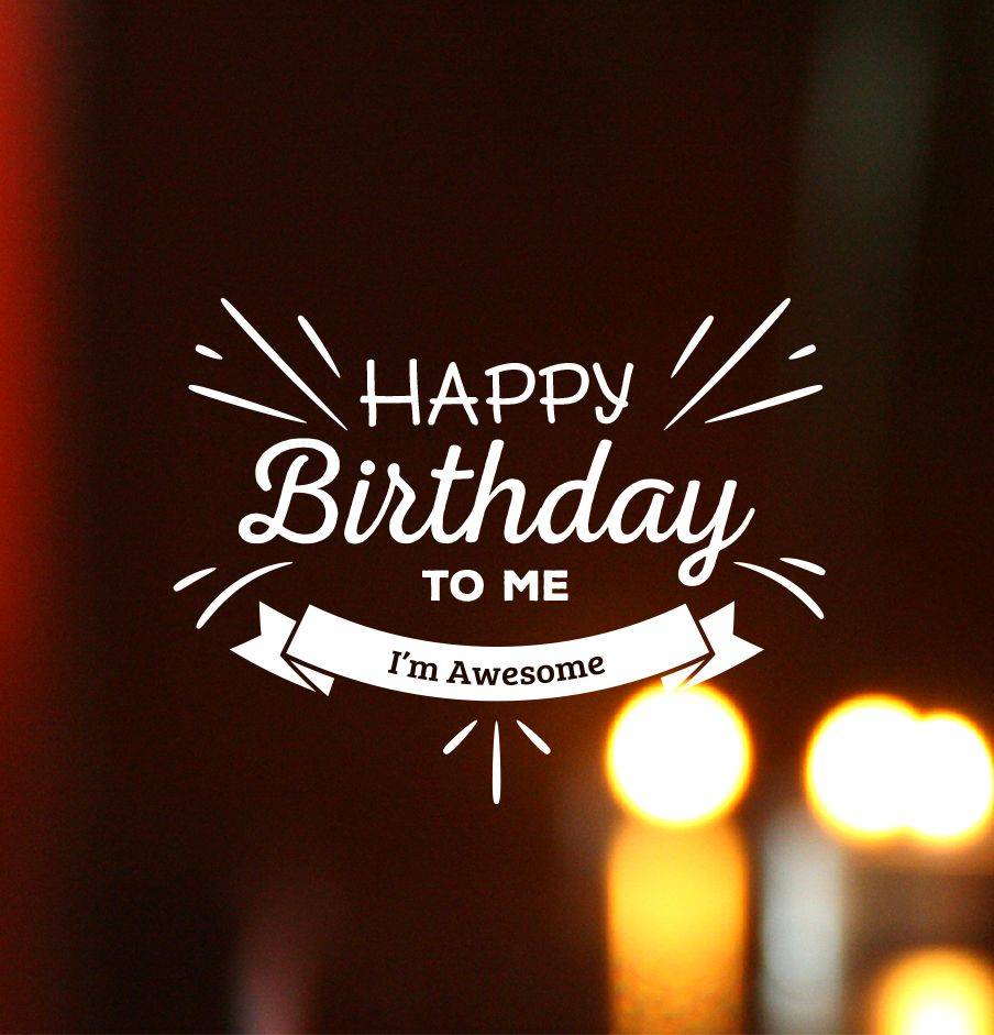 Happy birthday to me wallpapers my bday pinterest happy lettering card for birthday free vector kristyandbryce Gallery