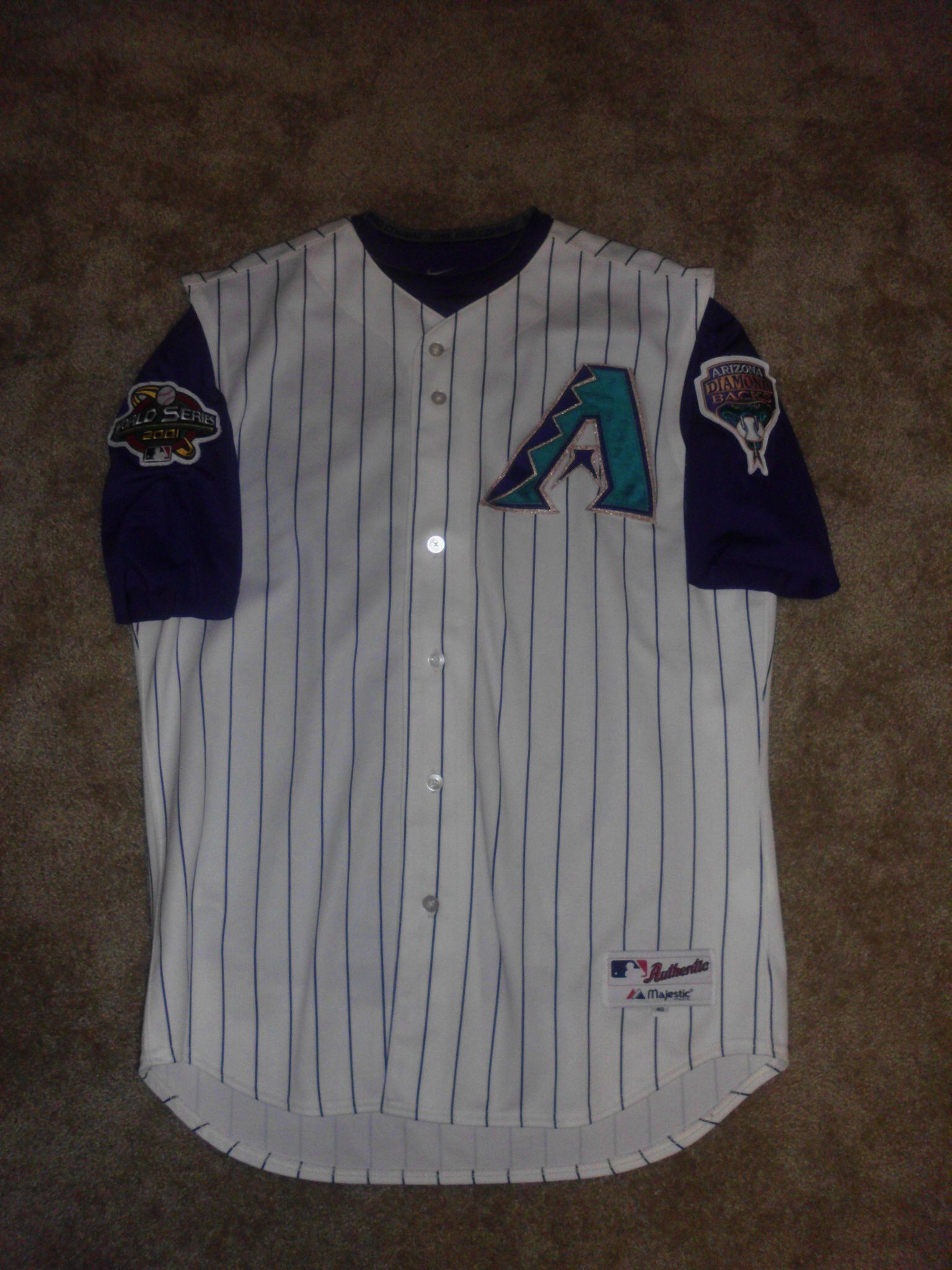 2001 World Series Arizona Diamondbacks Alternate Home