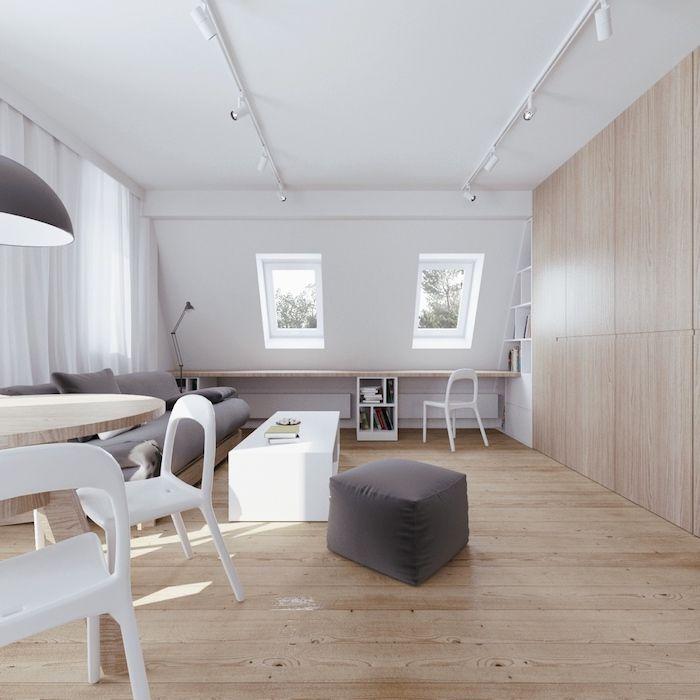 ▷ 1001 + Ideen für Einrichtung von einer Mansarde - schlafzimmer einrichten beige