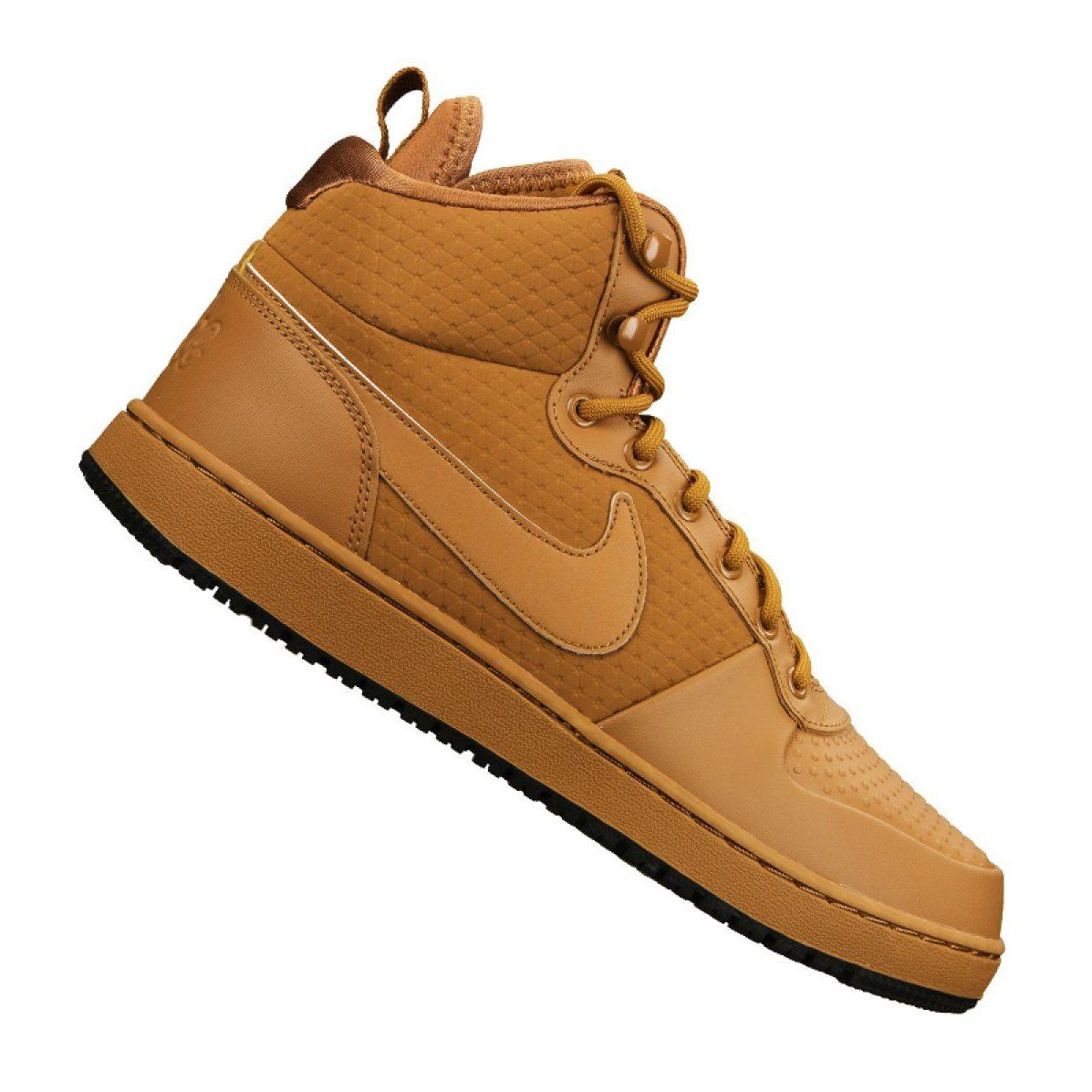 Buty Nike Ebernon Mid Winter M Aq8754 700 Brazowe Nike Mens Nike Shoes Shoes