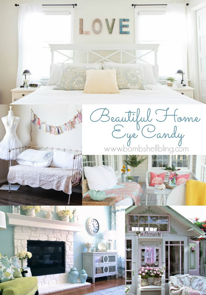 Beautiful Home Decor Eye Candy: A Roundup of home tours and ideas ...