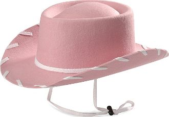 Toddler Wool Woody Cowboy Hat - Pink cbb533e77a6