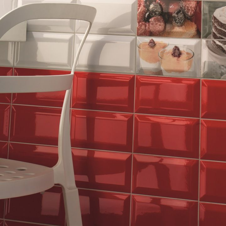 Gloss Kitchen Wall Tiles: York Red Wall Tiles Are Ideal As Red Kitchen Tiles Or Red