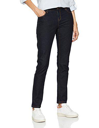 7f8f2f80f98827 Dorothy Perkins Damen Straight Leg Straight Jeans 16 Straight Blau (Indigo)  36 (Herstellergröße