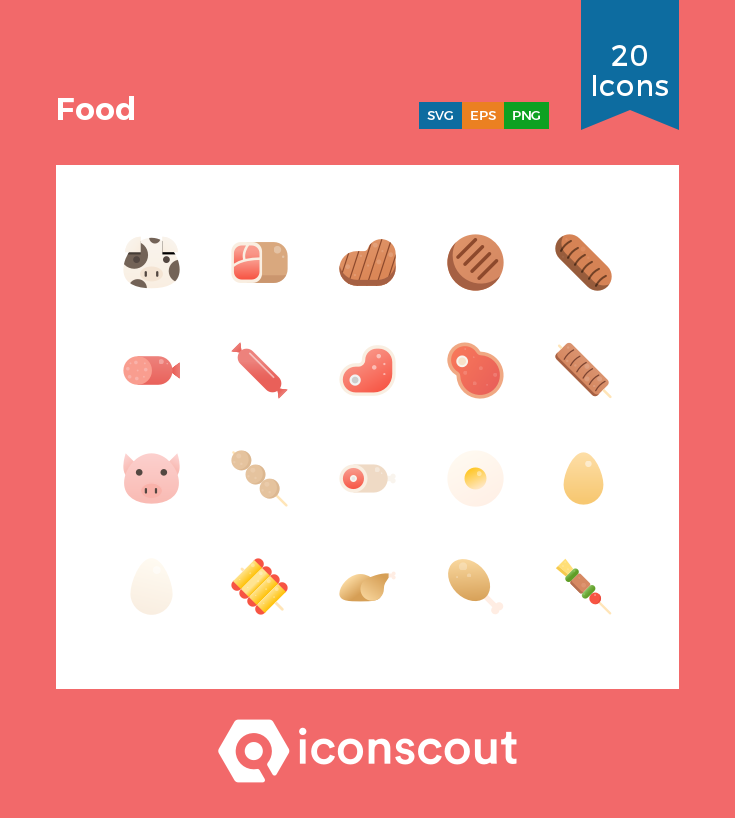 Download Food Icon Pack Available In Svg Png Eps Ai Icon Fonts Food Icons Icon Icon Pack