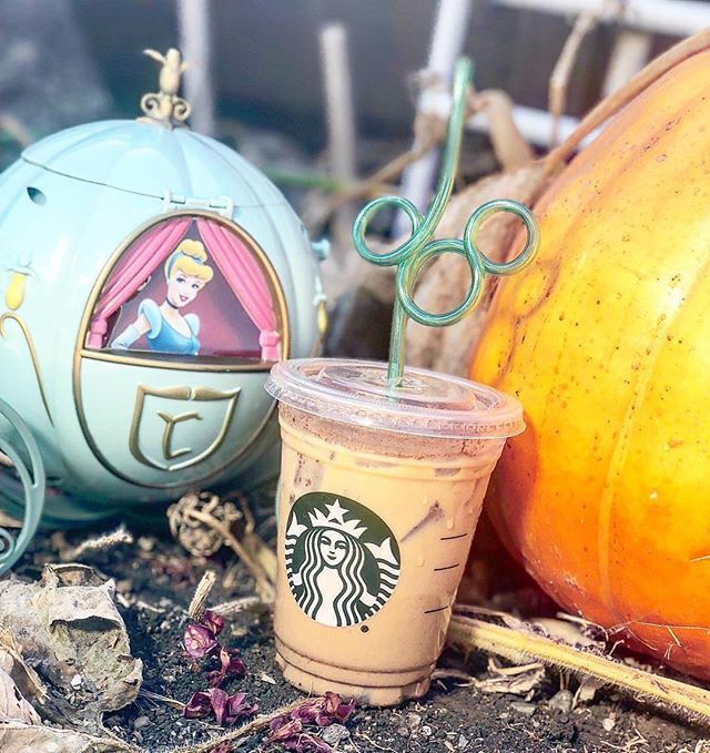 edf89a56ca32fe Have you heard about the new Cinderella Latte at Starbucks in  Disneyland   Its a cleaver twist on the Pumpkin Spice latte we all love!