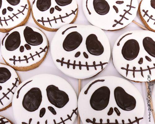 galletas jack ookies Halloween Pinterest