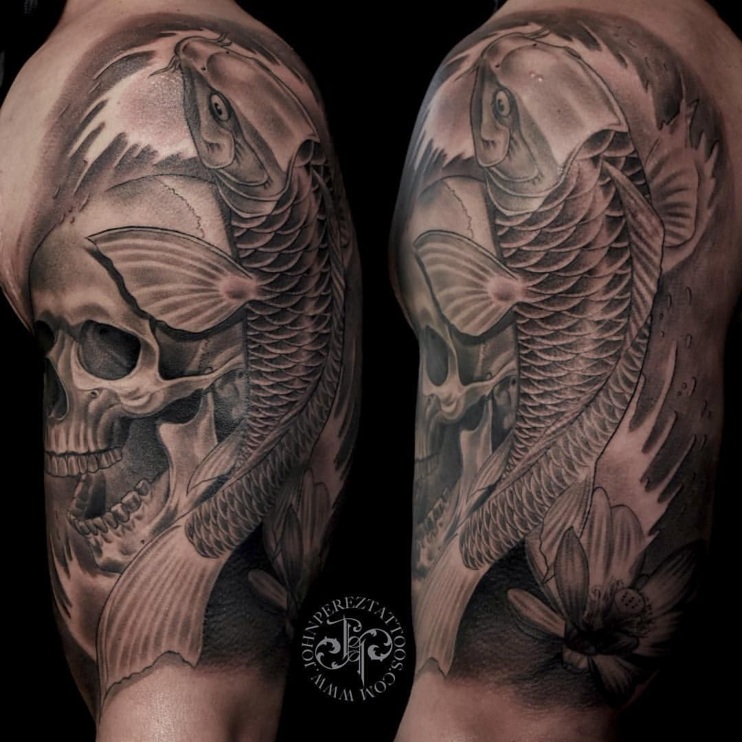 Pin On John Perez Black And Grey Tattoos