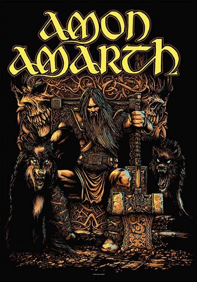 Amon Amarth Viking Metal Heavy Metal Music Metal Albums