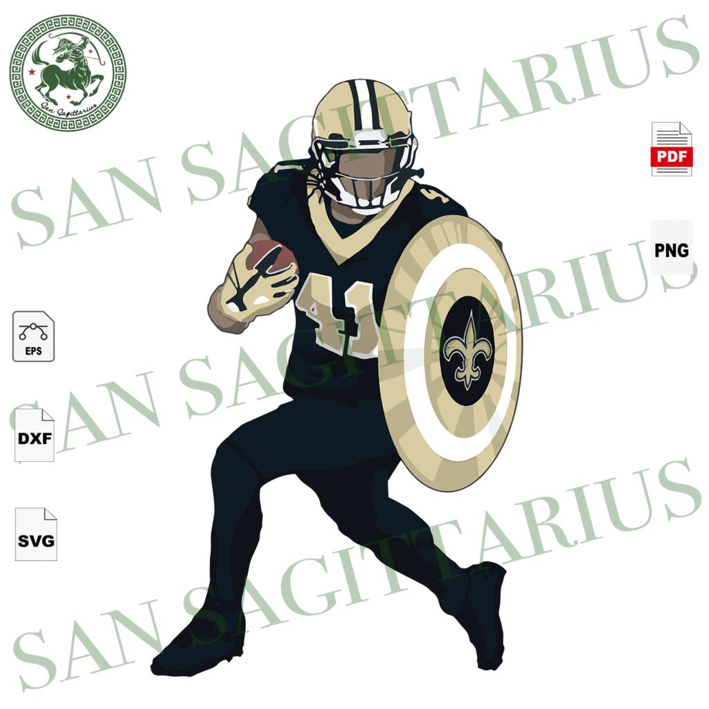 Alvin Kamara Sport Svg New Orleans Saints Logo Svg New Orleans Saints Football New Orleans Saints Shirt Football Mom Football Lover Gift Nfl Saints Svg New Orleans Saints Logo Saints Football