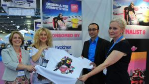 FESPA Fabric's 2013 Design-a-Tee competition winner announced - Georgia Andreadi, a freelance designer from Greece, has been voted the winner of FESPA Fabric's Design-a-Tee competition 2013, bagging the grand prize of €2,000
