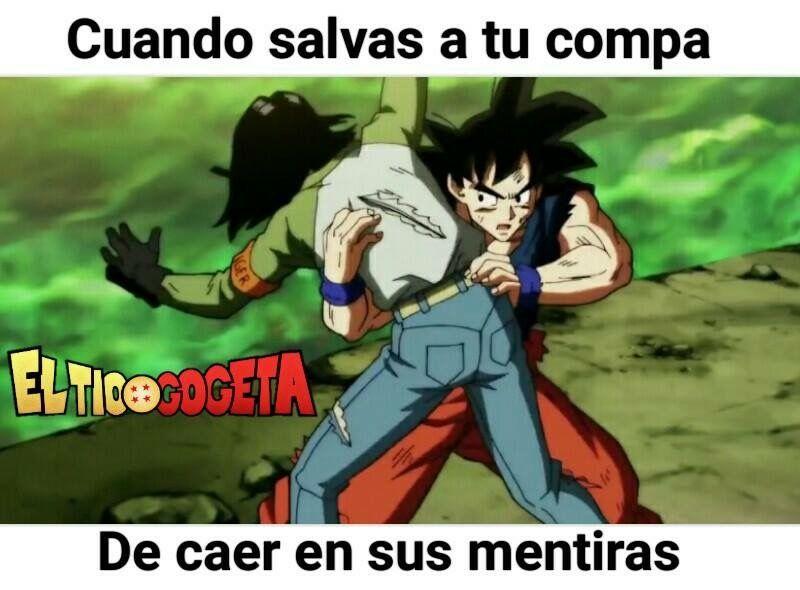 Memes Chistes Goku Android17 Humor Amor Meme Del Dia Humor Otaku Imagenes Graciosas