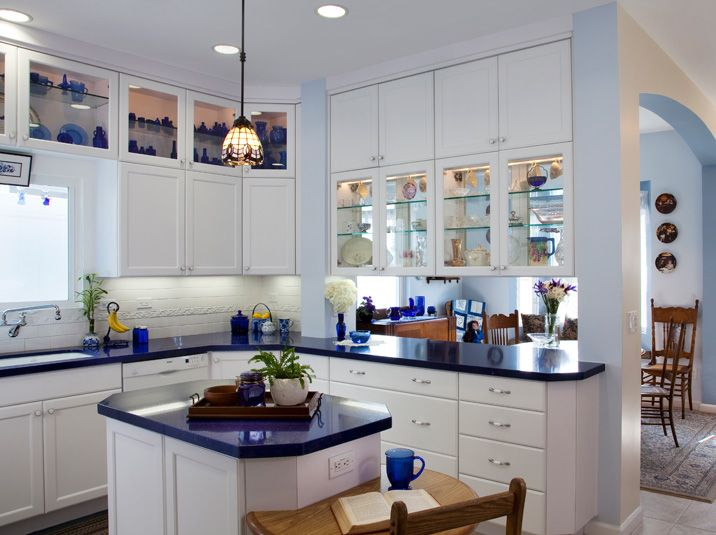 Merveilleux White Shaker Cabinets With Top Cabinets Glass Doors   Google Search
