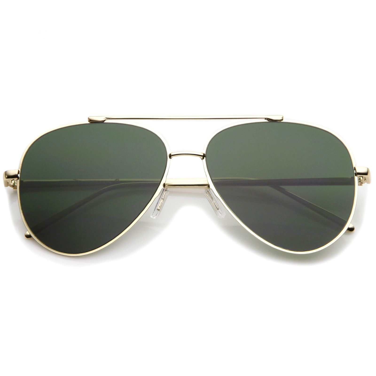 a54177f06 Classic Large Teardrop Crossbar Flat Lens Aviator Sunglasses 60mm # sunglasses #frame #sunglass #mirrored #clear #womens #oversized #sunglassla  #bold #cateye