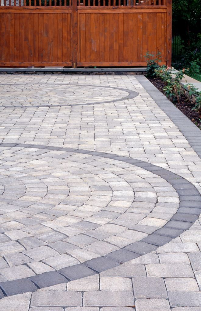 Patio pavers Outdoor siding and driveways Pinterest Balai - pave pour terrasse exterieur