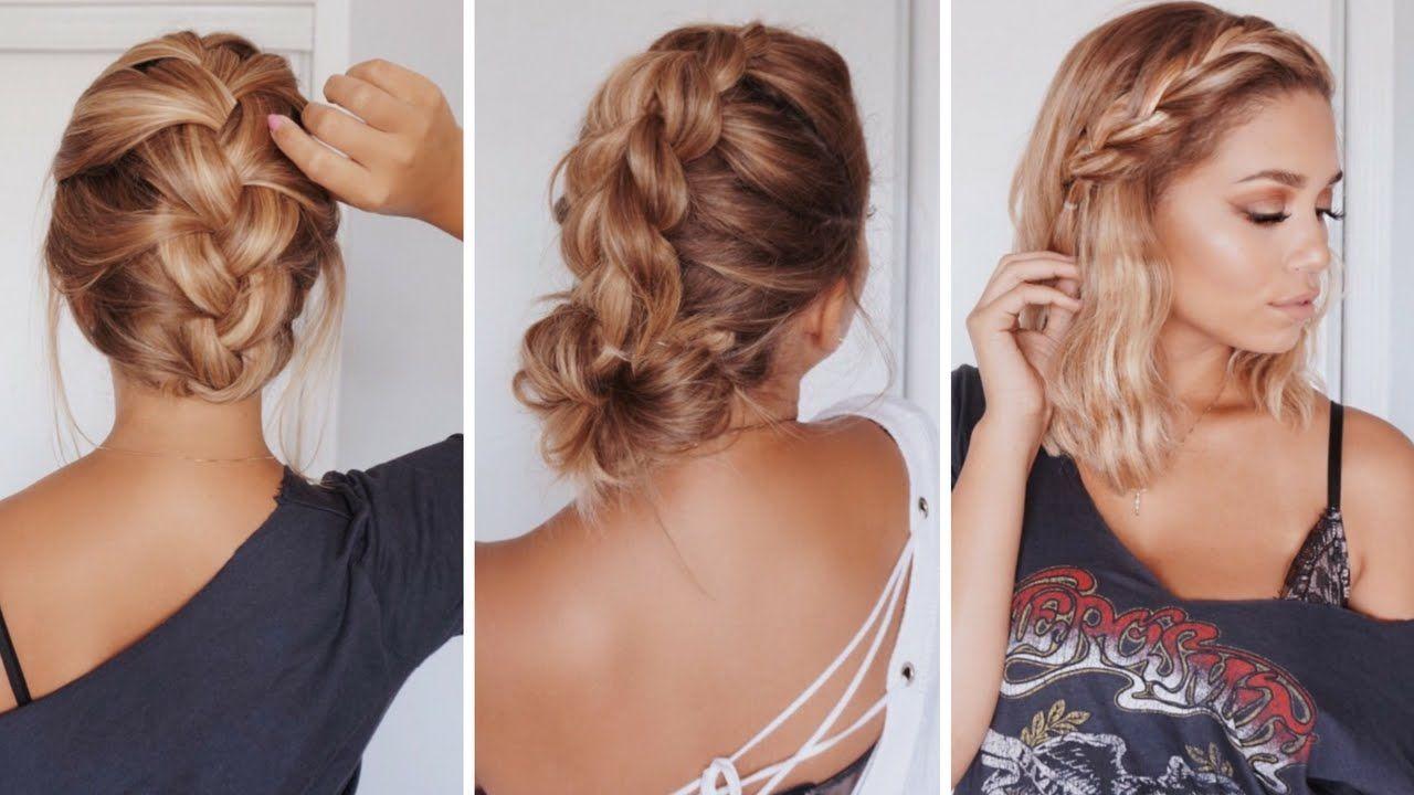 easy hairstyles for shortmedium length hair ashley bloomfield