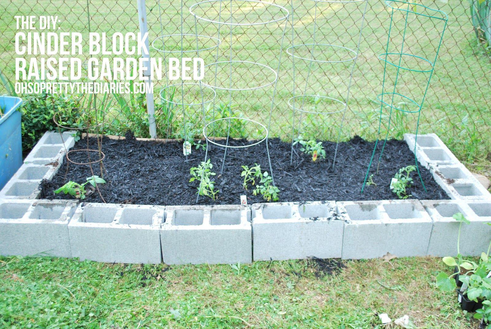 cement block garden i like the u shape life began in a garden pinterest  cement raised