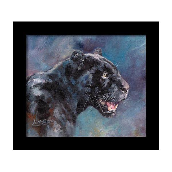 5D Diamond Painting Attacking Black Panther Kit