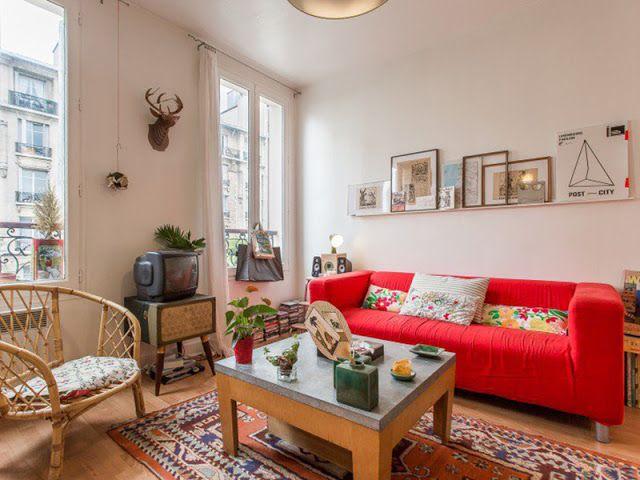 Un appartement bohème de 30m2 à Vincennes en 2018 Déco Decor