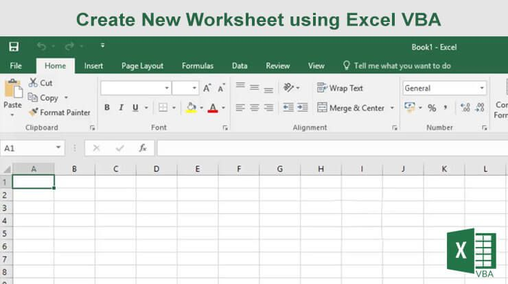 How To Create New Worksheet In Excel Using Vba Worksheets Problem Statement Excel