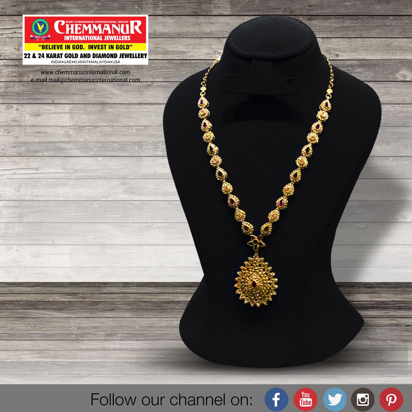 Chemmanur International Jewellers Tollfree Number 1800 3000 2916 Join Whatsapp 9562032223 Beaded Necklace Statement Necklace Diamond Jewelry
