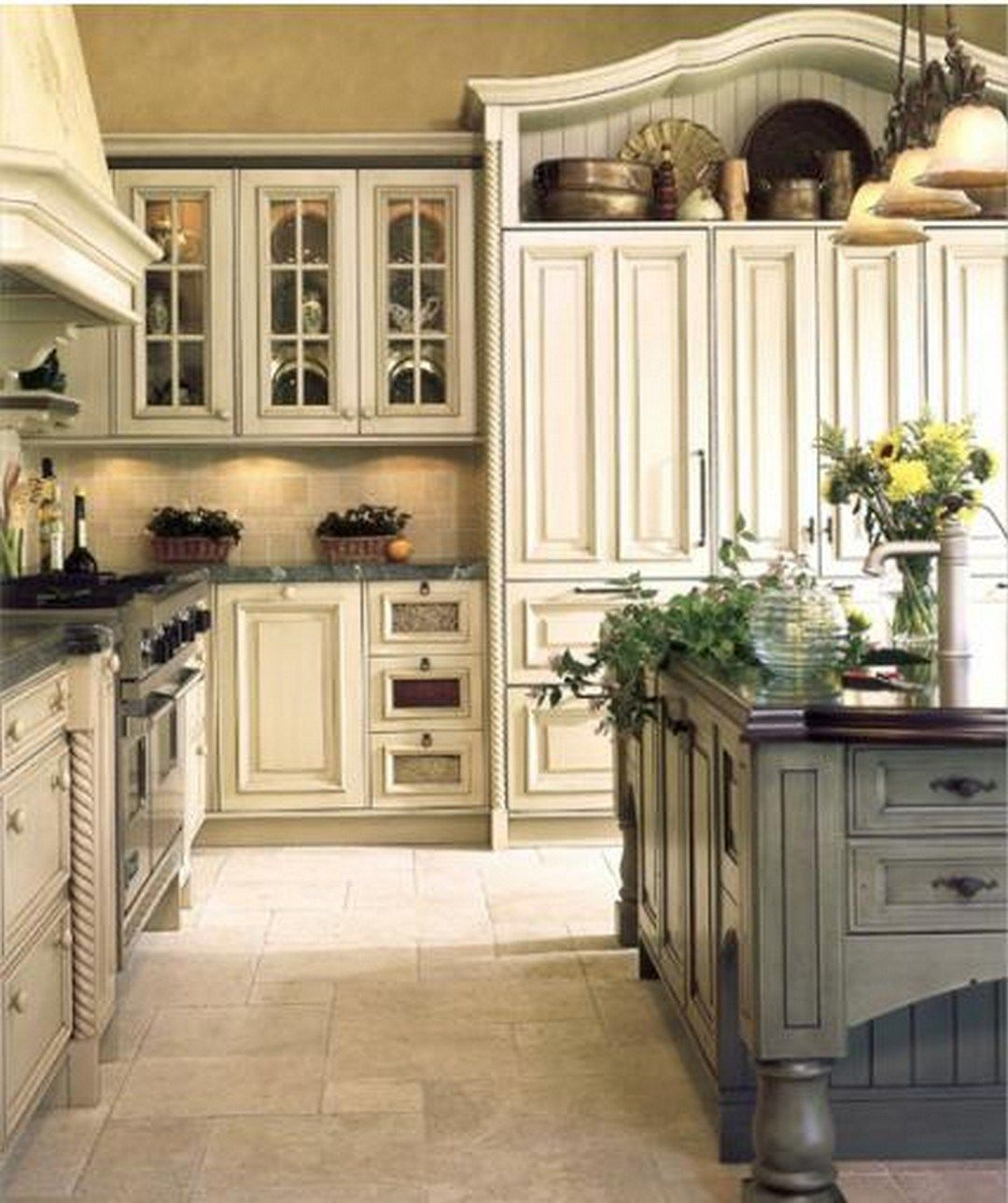 Country Kitchen Look: 99 French Country Kitchen Modern Design Ideas (30)