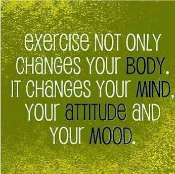 Exercise mental health quotes