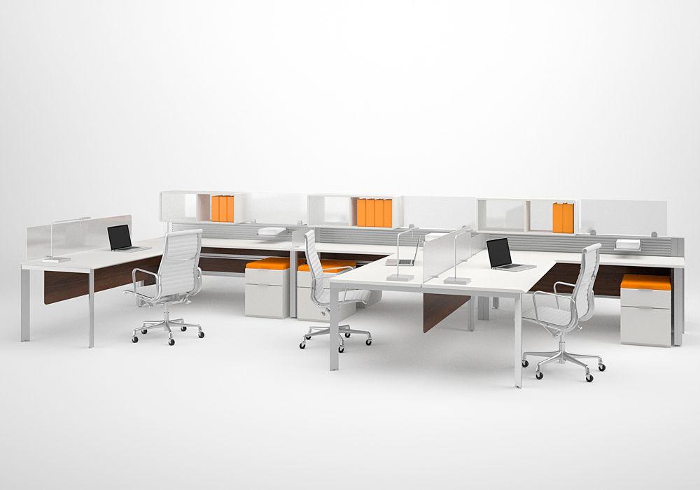 Modern office furniture design bekant standing desk by for Cheap modern office furniture