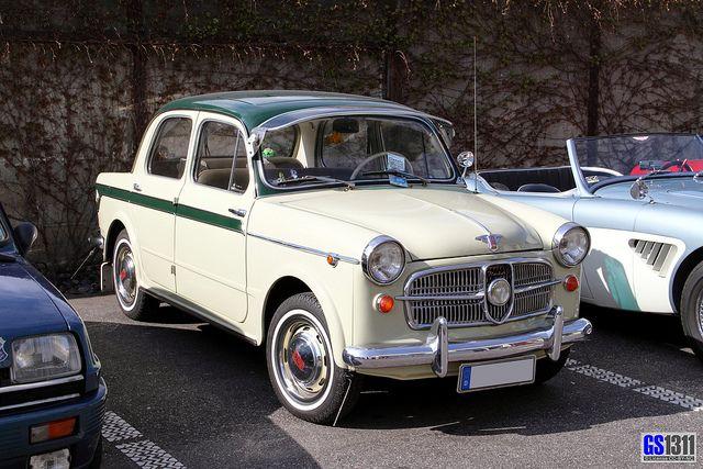 1953 Nsu Fiat Neckar 1100 103 Auto