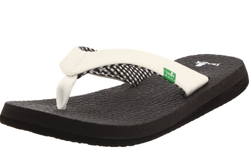grey sanuk fashion flip in flop forward yoga flops mat gunmetal img tag