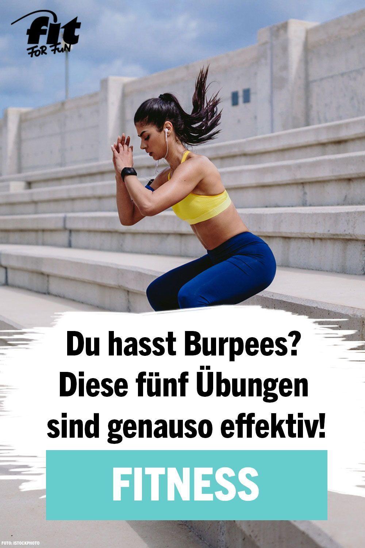 Du hasst Burpees? Diese fünf Übungen sind genauso effektiv - FIT FOR FUN #dailyexercise Burpees sind...