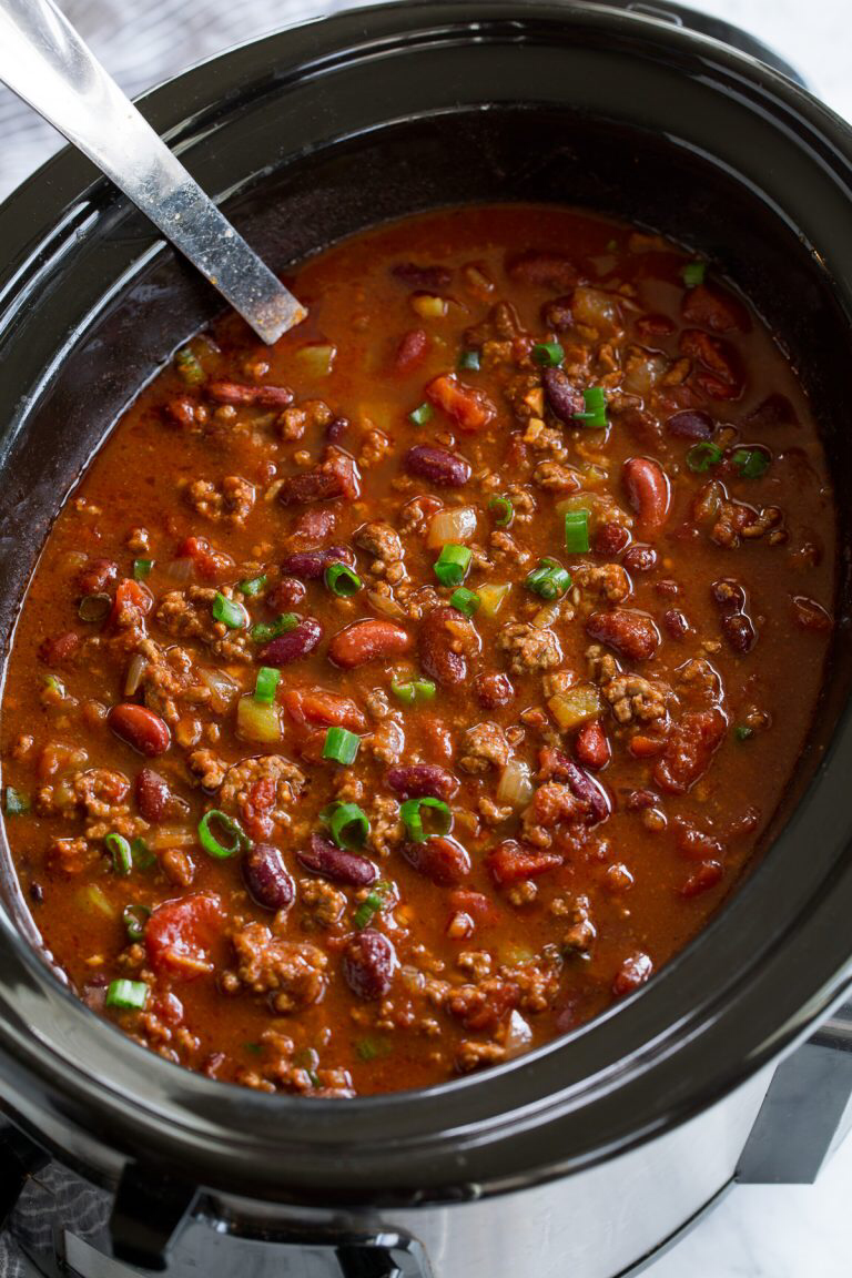 Best Ever Chili Recipe Slow cooker chili recipe, Slow