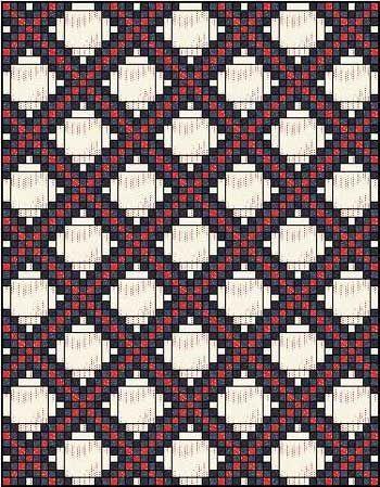 Irish Chain Quilt Pattern: Single, Double and Triple Irish Chain ... : double irish chain quilt pattern free - Adamdwight.com