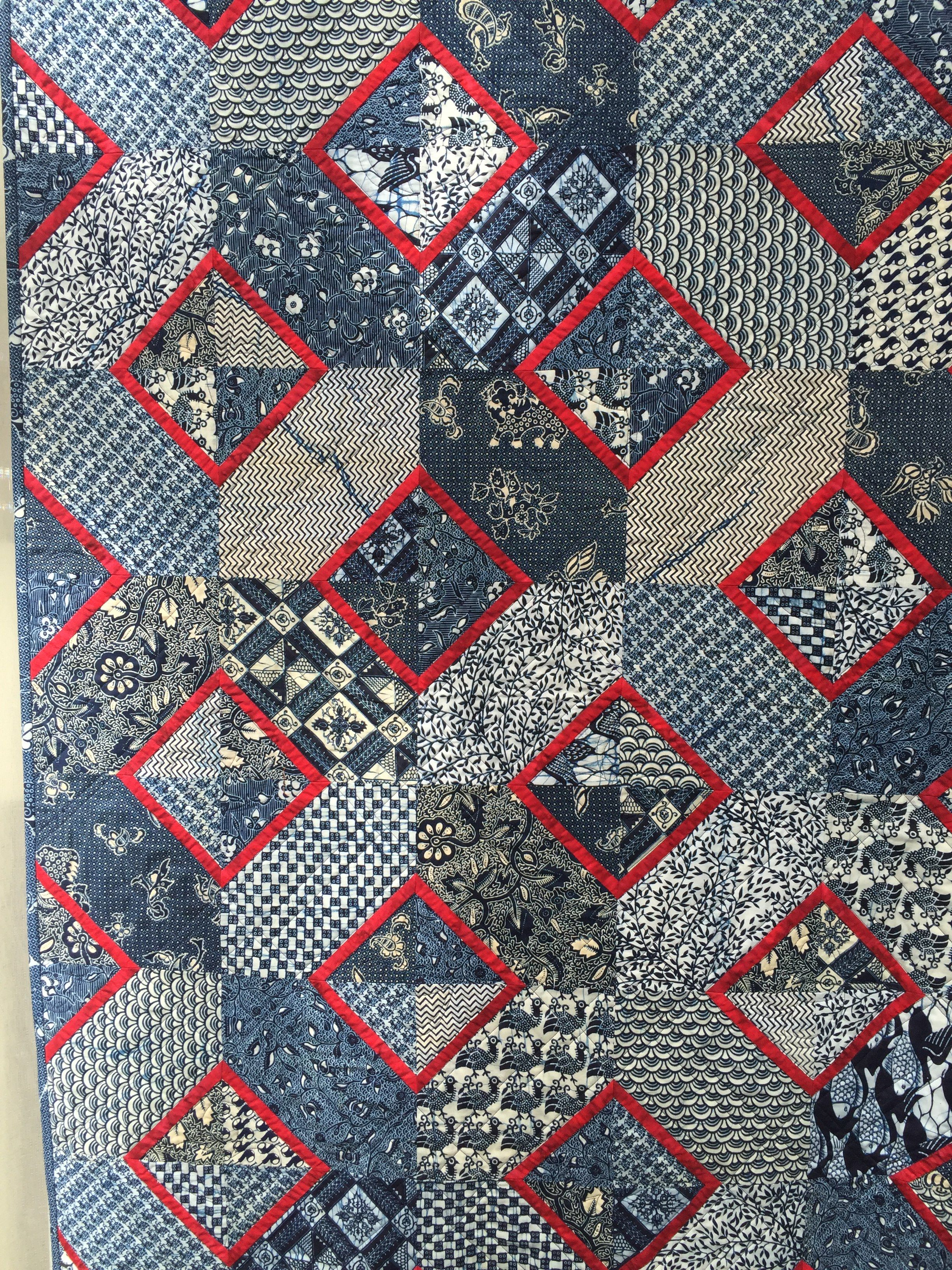 Squares & Diamonds.  Good for Japanese stash