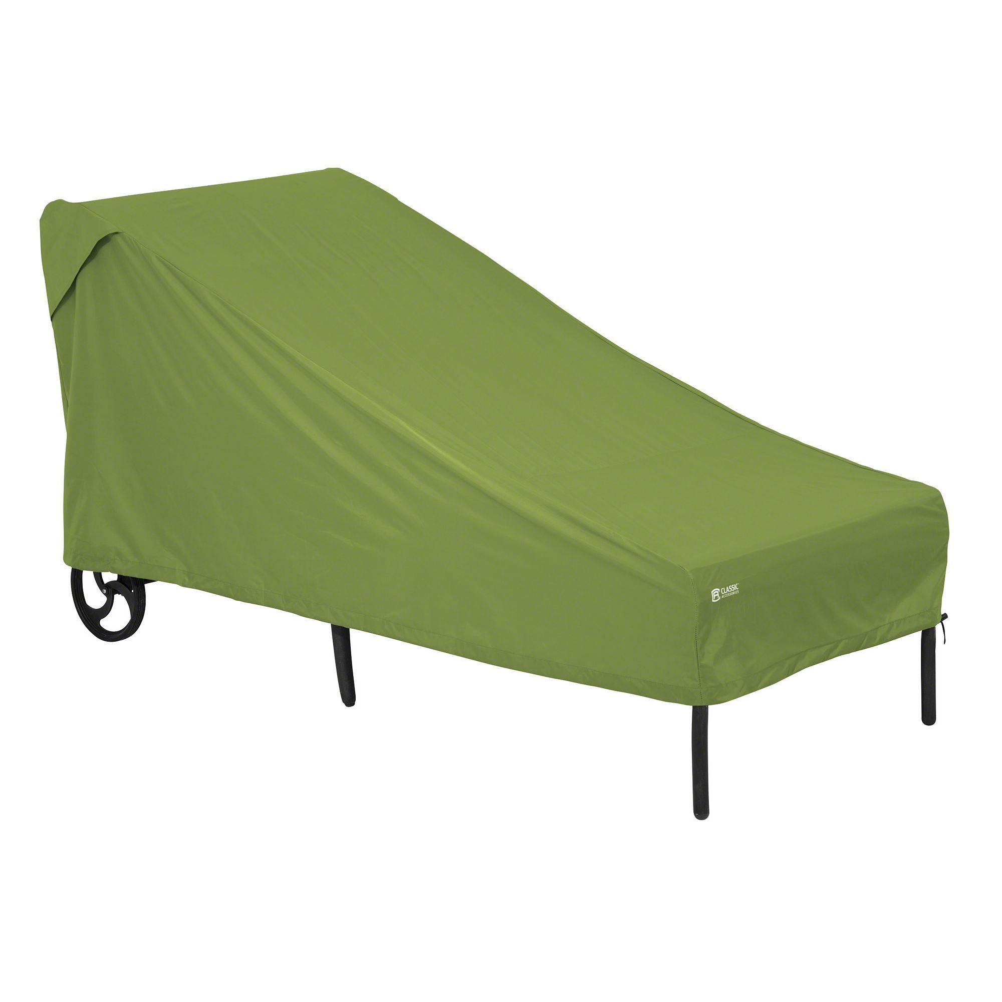 Outdoor classic accessories sodo patio chaise cover green