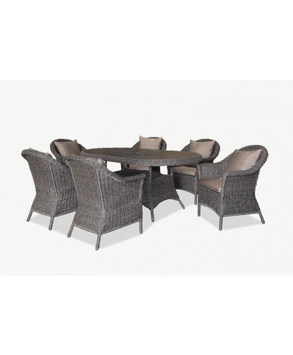 grand outdoor furniture dining setting 7pce For the Home