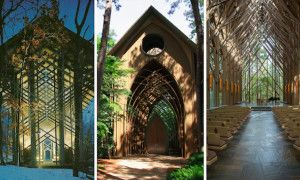 The enchanting glass chapels of Arkansas - Posted on Roadtrippers.com!