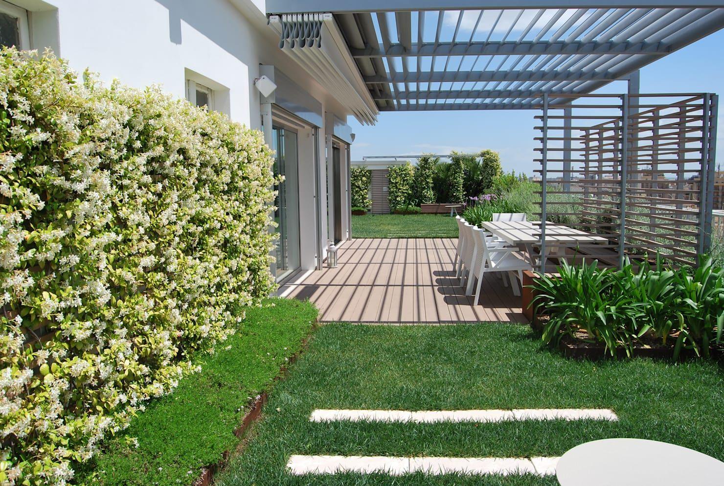 Un Terrazzo In Pessime Condizioni Diventa Un Oasi Verde