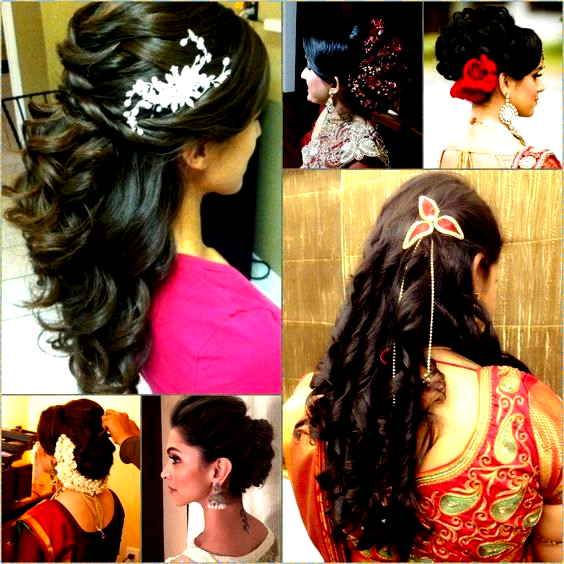 Curly Hairstyles For Indian Wedding Curly Hairstylesforwomenindianwedding Hairstyles Indian In 2020 Hair Styles Long Hair Styles Curly Hair Styles