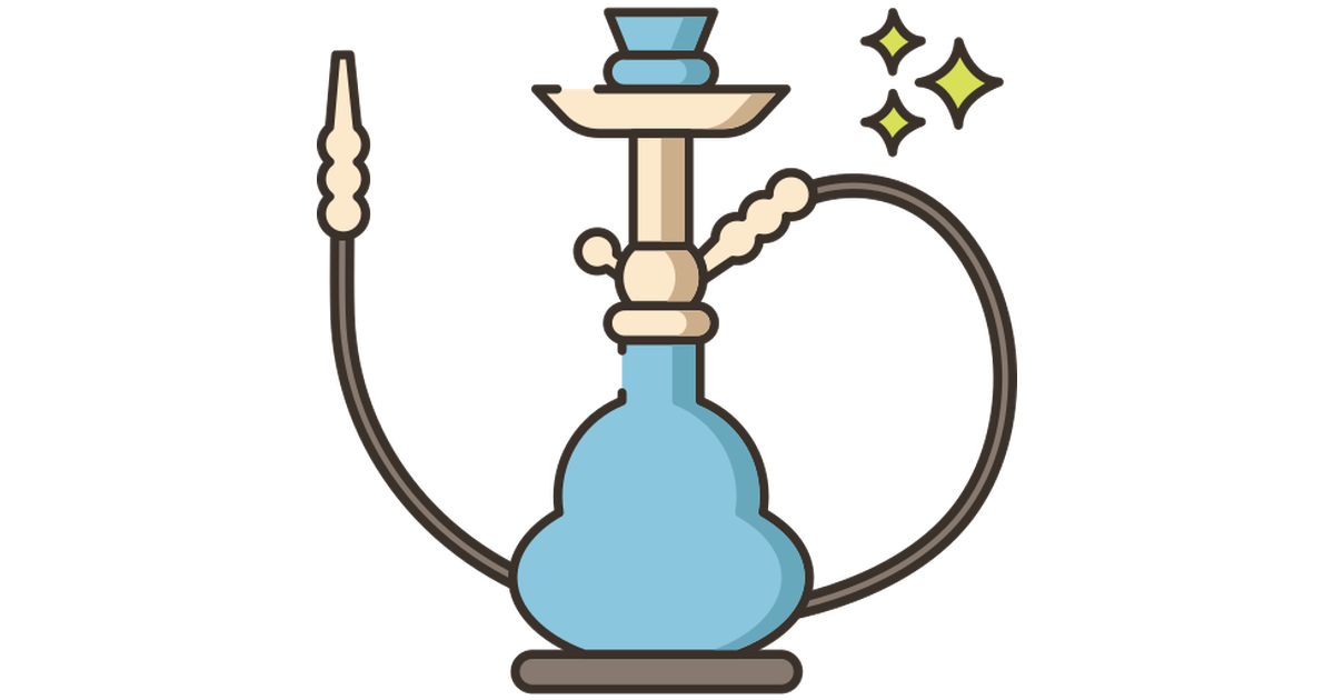 Hookah free vector icons designed by