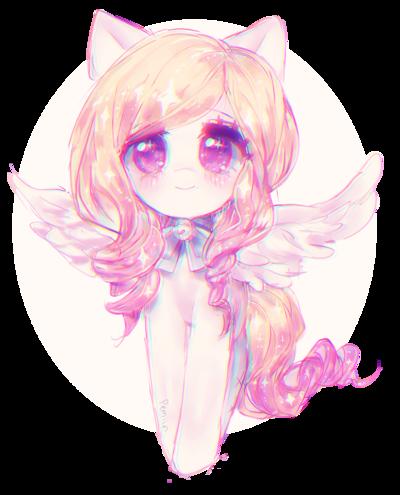 Angel by Pemiin Art, Anime, Digital artist
