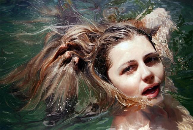 Incredibly Realistic Paintings By Alyssa Monks