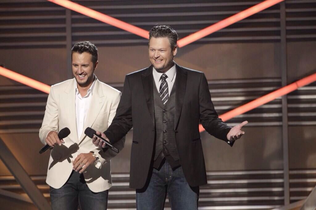 Luke & Blake hosting Acm's