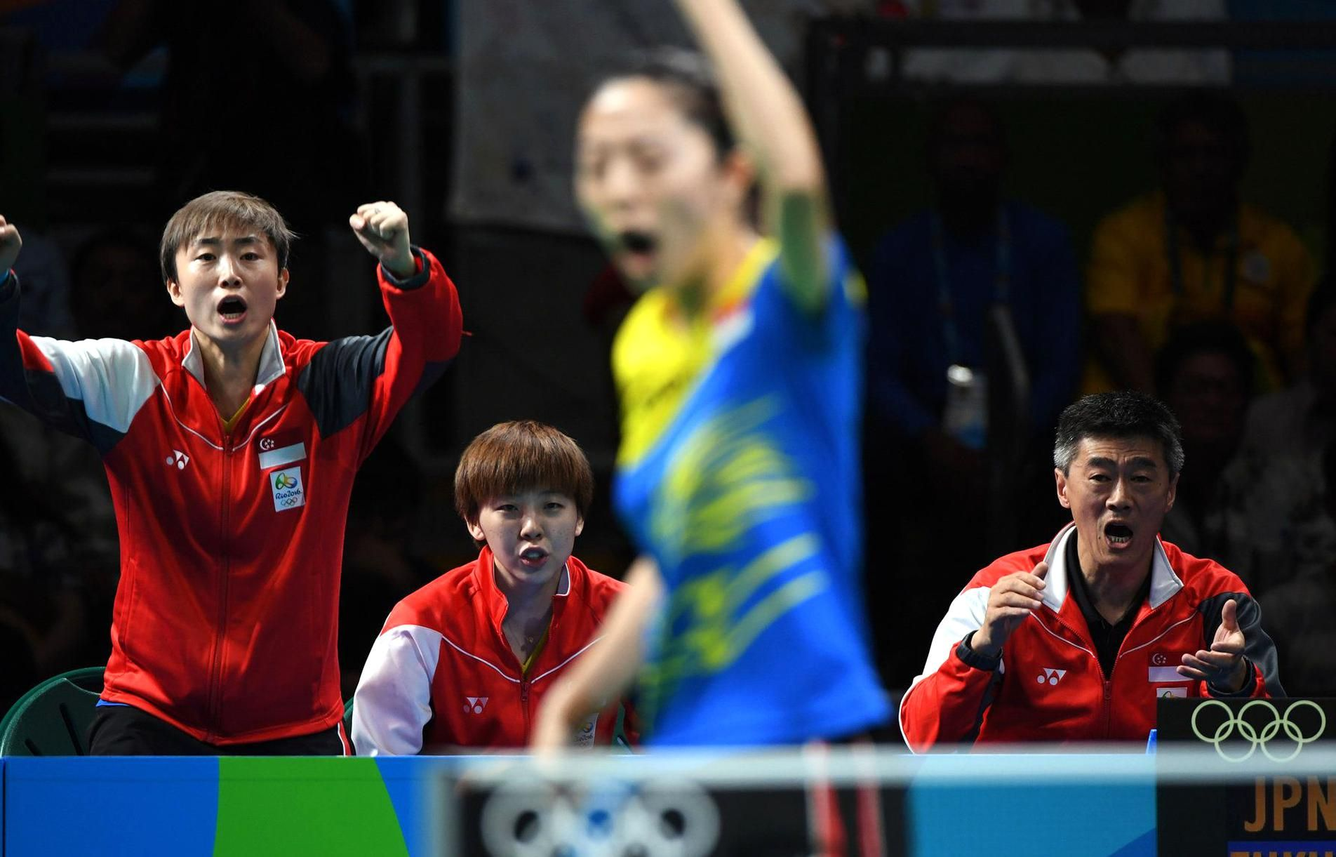 The Bronze Medal Match In Womens Team Table Tennis Japan Defeated Singapore 3 1 James Hill For The New York Times In 2020 Team Table Table Tennis The New York Times