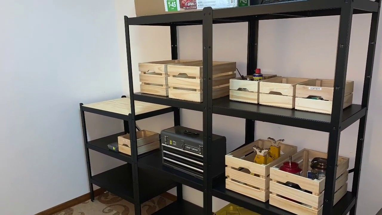 Diy Ikea Bror Shelves Unboxing And Assembly