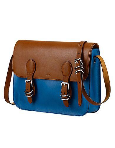 b837bfd667 Bexley Heath Medium Leather Messenger Bag