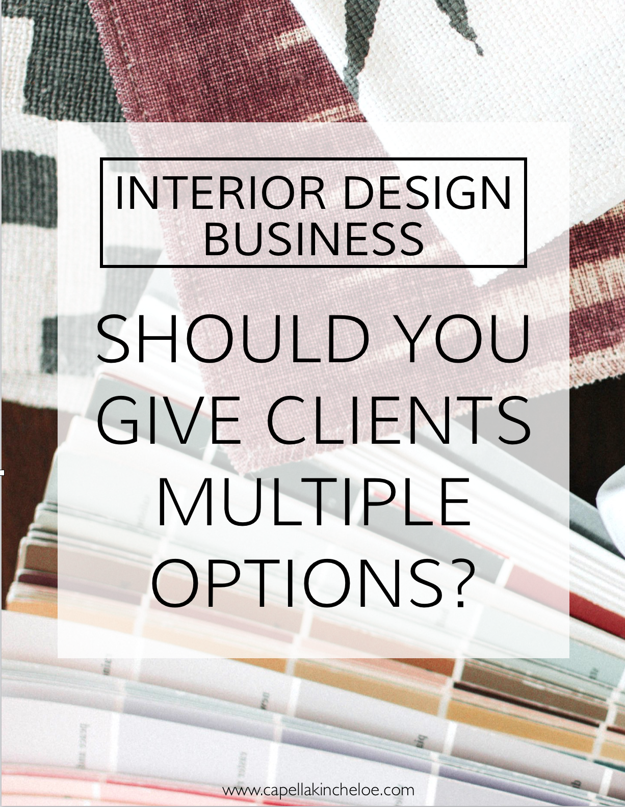 Should You Give Clients Options With Images Interior Design
