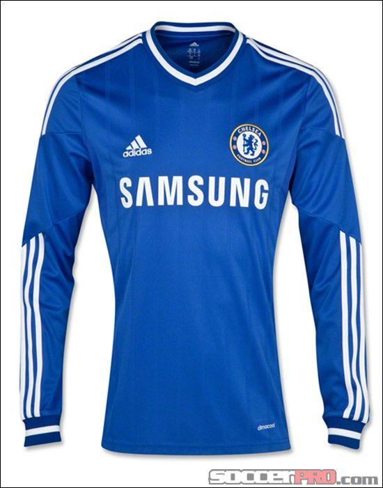 adidas Chelsea Long Sleeve Home Jersey 2013-2014... 89.99  8b3c470e3e7a5