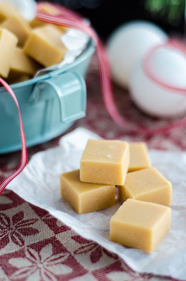 vaniljfudge recept kondenserad mjölk