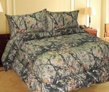 LIGHT PINK CAMO SHEET SET! QUEEN SIZE BEDDING 6 PC CAMOUFLAGE MICROFIBER WOODS
